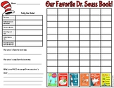 Dr. Seuss Graphing Activity