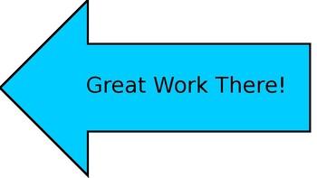 Dr. Seuss Great Work Arrows