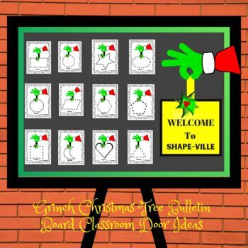 """Dr. Seuss """"Grinch"""" Tracing & Decorating Center Activity"""