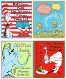 Dr. Seuss Hall Passes *Editable*