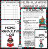 Dr Seuss Home Reading Log