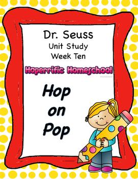 Dr. Seuss Hop on Pop Unit 10