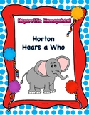 Dr. Seuss Horton Hears a Who Worksheet