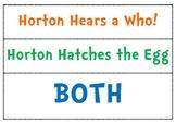 Dr. Seuss (Horton Stories - Compare and Contrast)