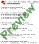 Dr Seuss How Grinch Stole Christmas Reading Comprehension Questions LINED PAPER