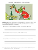 Dr. Seuss' How the Grinch Stole Christmas - Movie Activity
