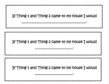 Dr. Seuss- If Thing 1 and Thing 2 came to my house