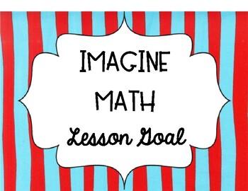 Dr. Seuss Imagine Math Goal Clip Chart