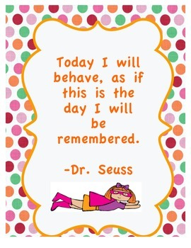 Dr. Seuss Inspirational Poster