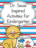 Dr. Seuss Inspired Kindergarten Literacy Center Activity