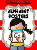 Alphabet Posters Picture Cards - Read Across America Inspired
