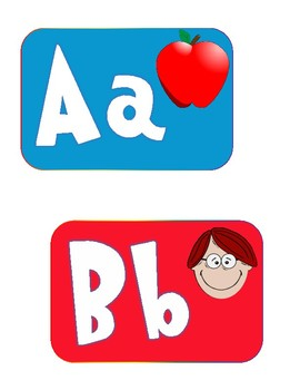 Dr. Seuss Inspired Alphabet Word Wall