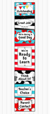 Dr Seuss Inspired Behavior Clip Chart - Classroom Manageme