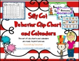 Dr. Seuss Inspired Behavior Clip Chart and Calendars Print and Go 2019-2020