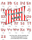 Dr Seuss Inspired Bulletin Board Alphabet