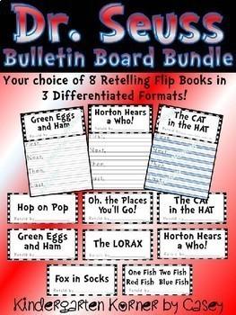 Word Family Rhyming Hats and Retelling Flip Books BUNDLE Craft Writing K 1 2