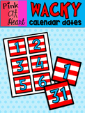 Dr. Seuss Inspired Calendar Dates