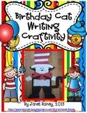 Birthday Cat Writing Craftivity and More...