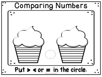 """Dr. Seuss Inspired """"Comparing Numbers"""""""