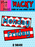 WACKY Days of the Week Cards