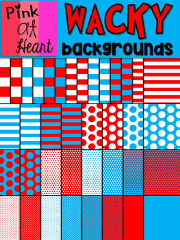 Dr. Seuss Inspired Backgrounds