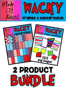 WACKY Bundle: Frames and Backgrounds