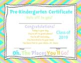 Dr. Seuss Inspired Diploma/Certificate