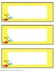 Dr. Seuss Inspired EDITABLE Name Tags and Labels