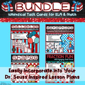 Dr Seuss Week Activities Teaching Resources | Teachers Pay Teachers