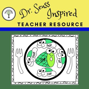 """Dr. Seuss Inspired """"Green Eggs"""" Rhyme Sort"""