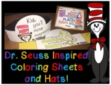 Dr. Seuss Inspired Hats and Coloring Sheets - Read Across