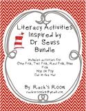 Dr. Seuss Inspired Literacy Activities