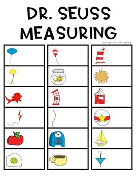Dr. Seuss Inspired Measuring Activity