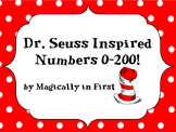 Dr. Seuss Inspired Numbers 0-200 - Cat in the Hat