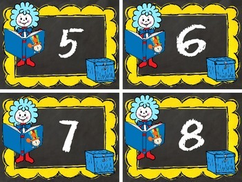 Dr. Seuss Numbers