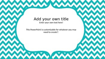 Dr. Seuss Inspired Power Point Template