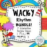 Wacky Rhythms - Dr. Seuss Inspired Interactive BUNDLE - 7