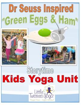 Dr. Seuss Inspired Storytime Kids Yoga Unit