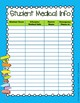 Dr. Seuss Inspired Teacher Binder/Lesson Plan Template- EDITABLE