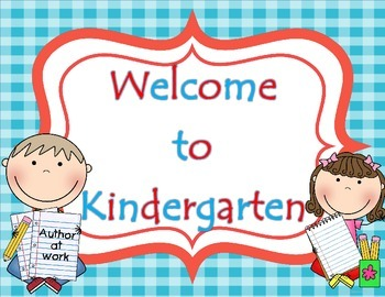 Welcome Door Signs with Editable Students' Names