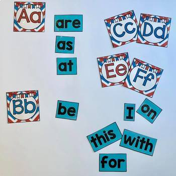 Dr. Seuss Inspired Word Wall