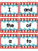Dr Seuss Inspired Word Wall Sight Word cards