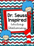 Dr. Seuss Inspired Writing Stationary
