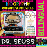 Dr Seuss - Interactive Activities - Bilingual Biographical Set