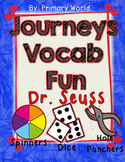 Dr. Seuss, Journeys First Grade Unit 2 Lesson 9 Vocabulary