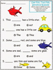 Dr. Seuss/Read Across America K-2 Math and Reading Unit Printable Worksheets