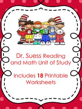 Dr seuss math worksheets pdf