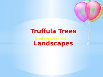Truffula Trees Landscape PowerPoint Presentation