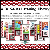 Dr. Seuss Listening Center with SafeShare QR Codes & Links