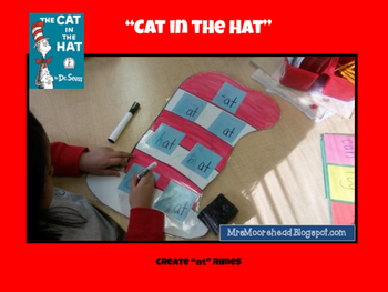 Dr. Seuss Literacy Centers in Action